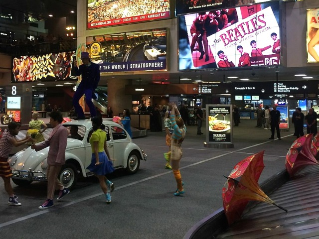 Las Vegas advertising activation